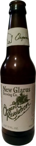 New Glarus Organic Revolution