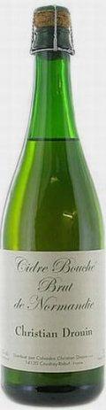 Christian Drouin Cidre Bouch� Brut de Normandie