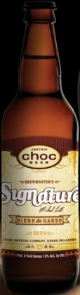 Choc Brewmasters Signature Michael Lalli Biere de Garde