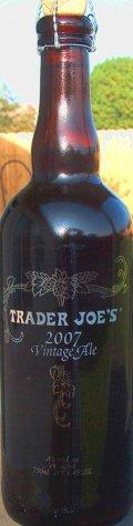 Trader Joe�s Vintage Ale 2007