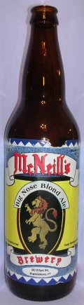 McNeills Big Nose Blonde Ale
