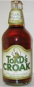Badger Toads Croak (Bottle)