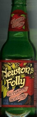 Newtons Folly Authentic Draft Cider
