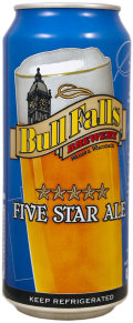 Bull Falls Five Star Ale - English Strong Ale