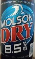 Molson Dry 8.5