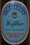 H�nicka Br�u Wunsiedler Wei�bier
