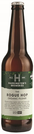 Harringtons The Rogue Hop Organic Pilsner