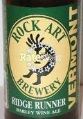 Rock Art Ridge Runner Ale