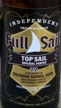 Full Sail Top Sail Imperial Porter Bourbon Barrel Aged
