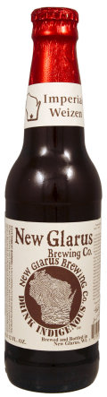 New Glarus Thumbprint Series Imperial Weizen - Weizen Bock