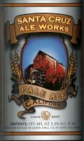 Santa Cruz Ale Works Pale Ale