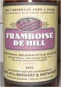Iron Hill Framboise de Hill - Lambic Style - Fruit