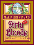 Marin Dirty Blonde - Belgian Ale