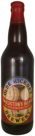 Olde Hickory Bardstown Brand Ale Aged in Bourbon Barrels