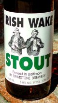 Brimstone Irish Wake Stout - Dry Stout