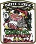Butte Creek Christmas Cranberry Ale