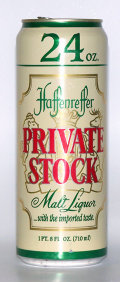 Haffenreffer Private Stock Malt Liquor
