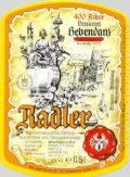 Hebendanz Radler - Fruit Beer