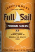 Full Sail Prodigal Sun IPA - India Pale Ale (IPA)
