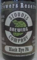 Stoudts Black Eye PA - Black IPA
