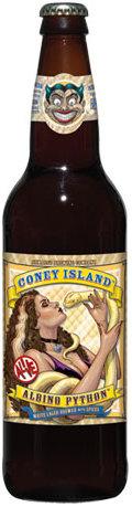 Coney Island Albino Python