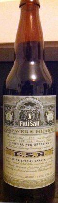 Full Sail ESB (Extra Special Barney)