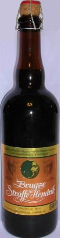 Brugse Straffe Hendrik Brune - Belgian Strong Ale