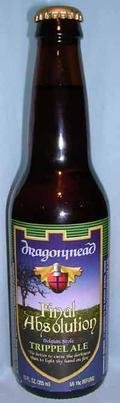 Dragonmead Final Absolution Belgian Style Trippel