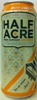 Half Acre Over Ale - Brown Ale
