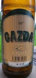 Gazda V�čapn� Pivo Svetl�  10� - Czech Pilsner (Světl�)