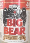 Big Bear - Malt Liquor