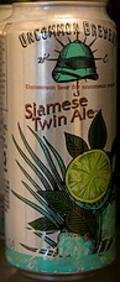 Uncommon Brewers Siamese Twin Ale