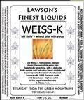 Lawson�s Finest Weiss-K