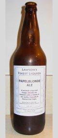 Lawson�s Finest Papelblonde Ale - Golden Ale/Blond Ale