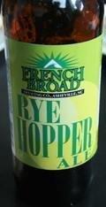 French Broad Rye Hopper