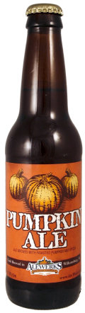AleWerks Pumpkin Ale - Spice/Herb/Vegetable