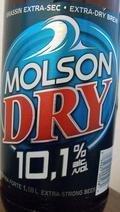 Molson Dry 10.1 - Malt Liquor