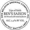 New Belgium Lips of Faith - Ben�s Saison