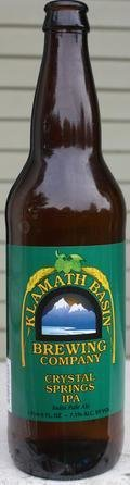Klamath Basin Crystal Springs IPA