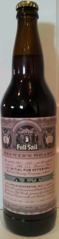 Full Sail Brewer�s Share Phil�s Existential Alt