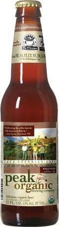 Peak Organic Espresso Amber Ale