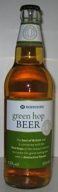 Morrisons Green Hop Beer