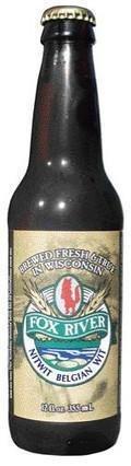 Fox River Nitwit Belgian Wit Beer - Belgian White (Witbier)