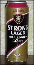 Tesco Strong Lager