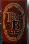 Baird Brewmasters Nightmare Rye IPA