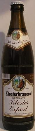Klosterbrauerei Kemnath Export