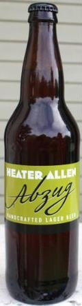 Heater Allen Abzug - Amber Lager/Vienna