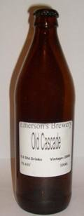 Emerson�s Brewers Reserve White Label Old Cascade