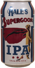 Hale�s Supergoose IPA - India Pale Ale (IPA)