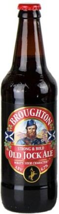Broughton Old Jock Ale &#40;Bottle&#41; - English Strong Ale